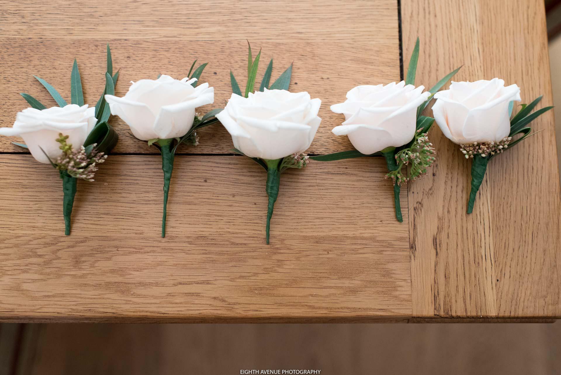 Button holes flowers