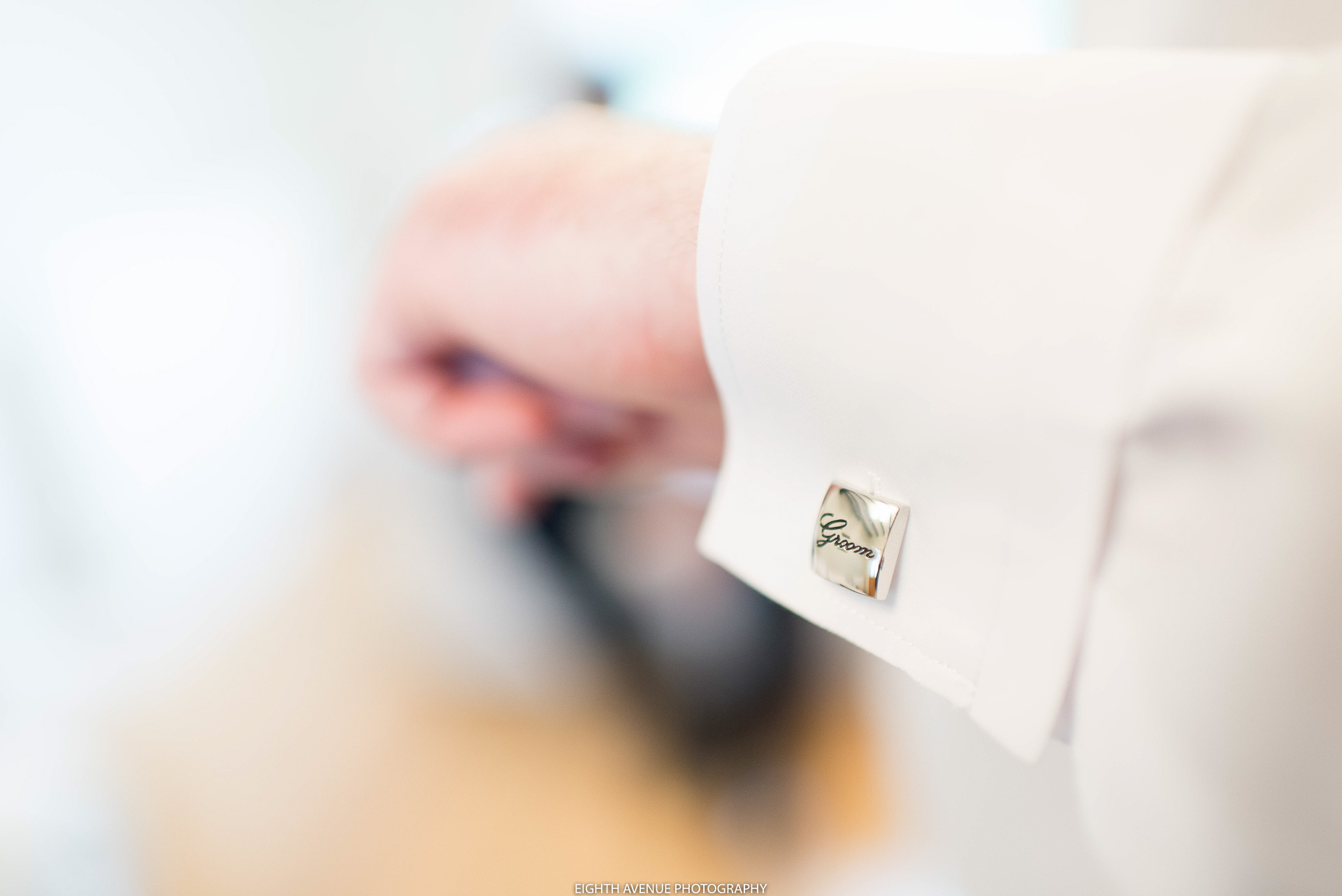 Groom cufflink