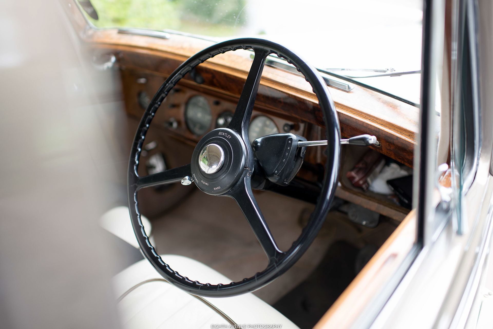 Wedding car steering wheel