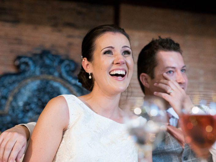 Bride in Cumbria wedding