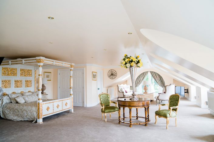 Bridal suite at Grange Hotel
