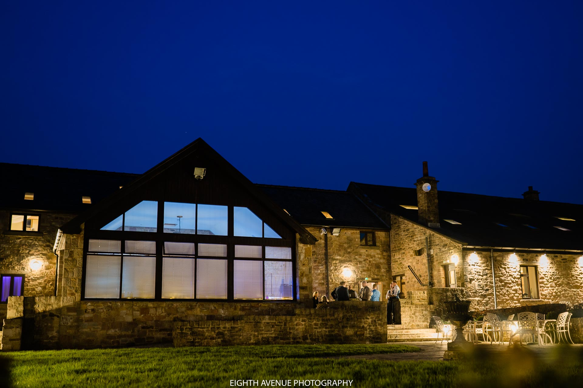 Beeston Manor in the evening