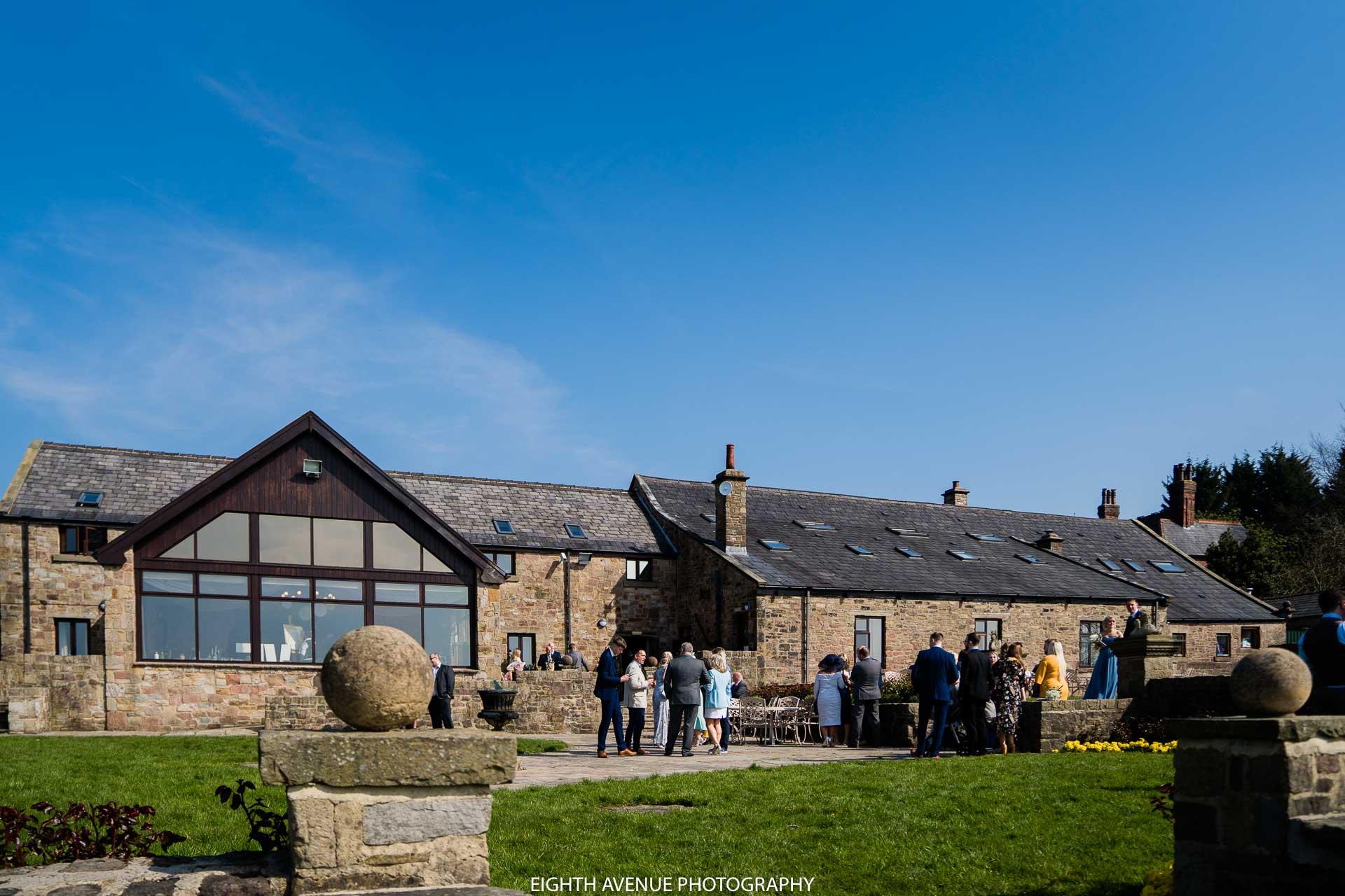Beeston manor in the sun