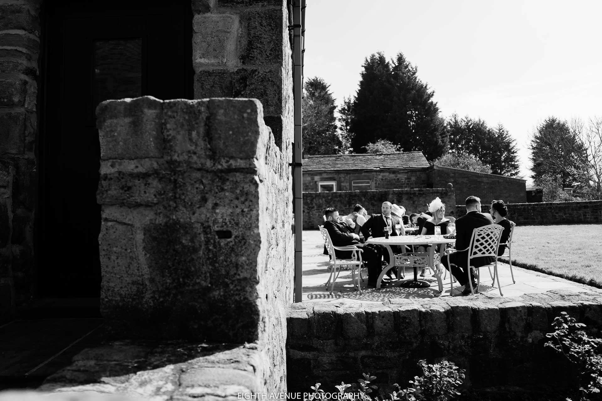 guests enjoying the sun