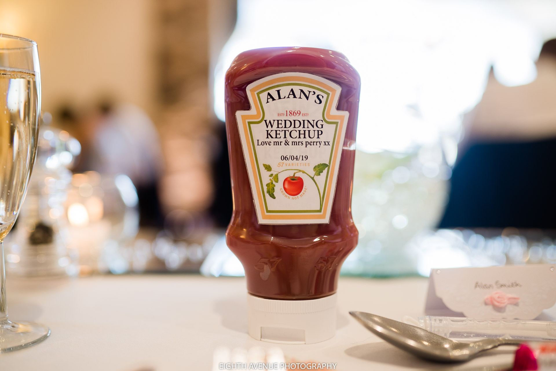 Wedding tomato ketchup