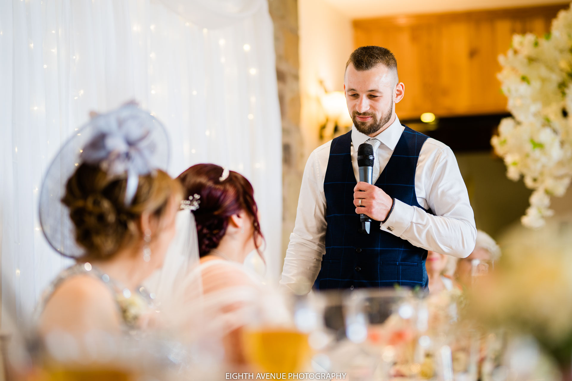 Groom speech at Beeston manor