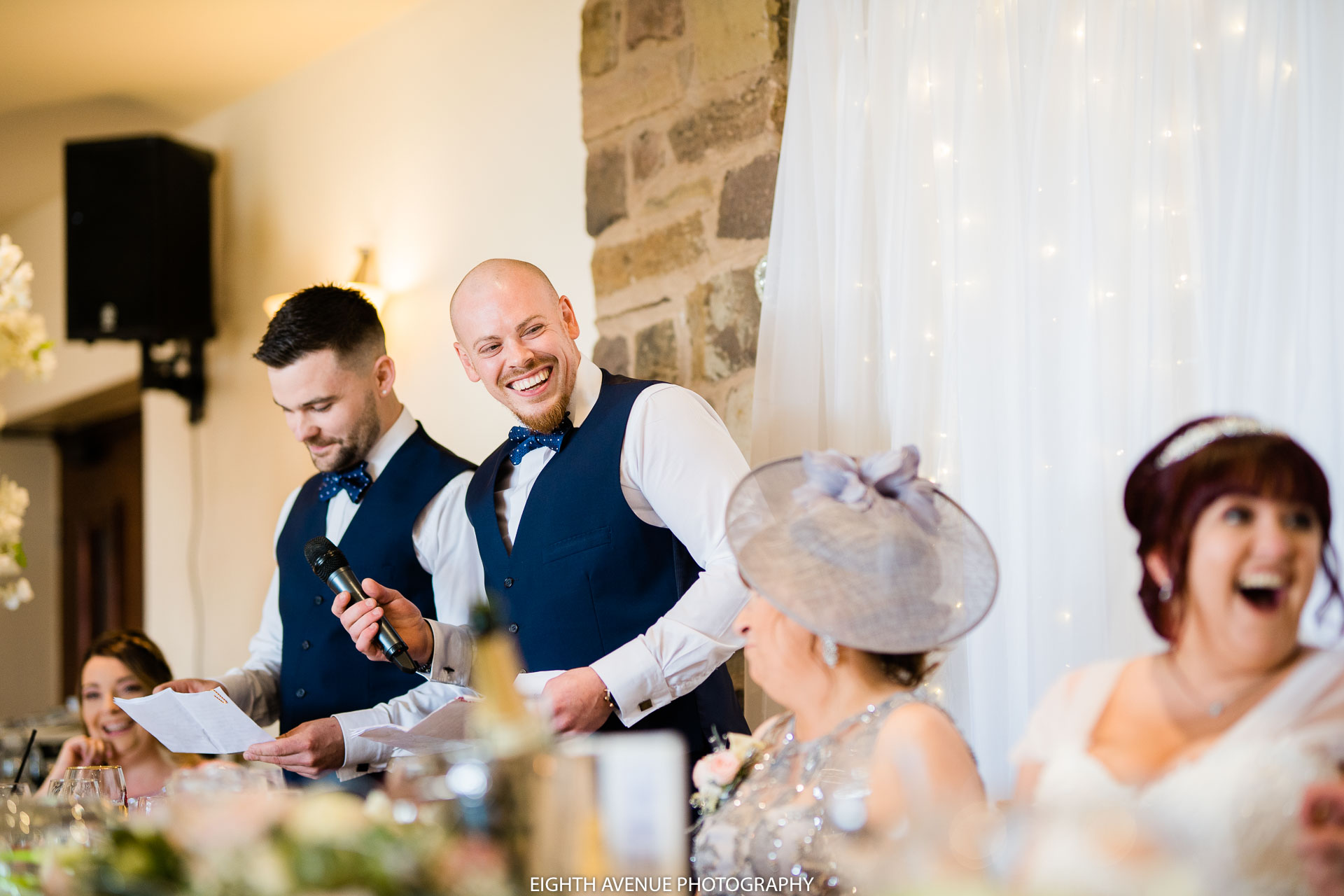 Best man speech at Beeston manor