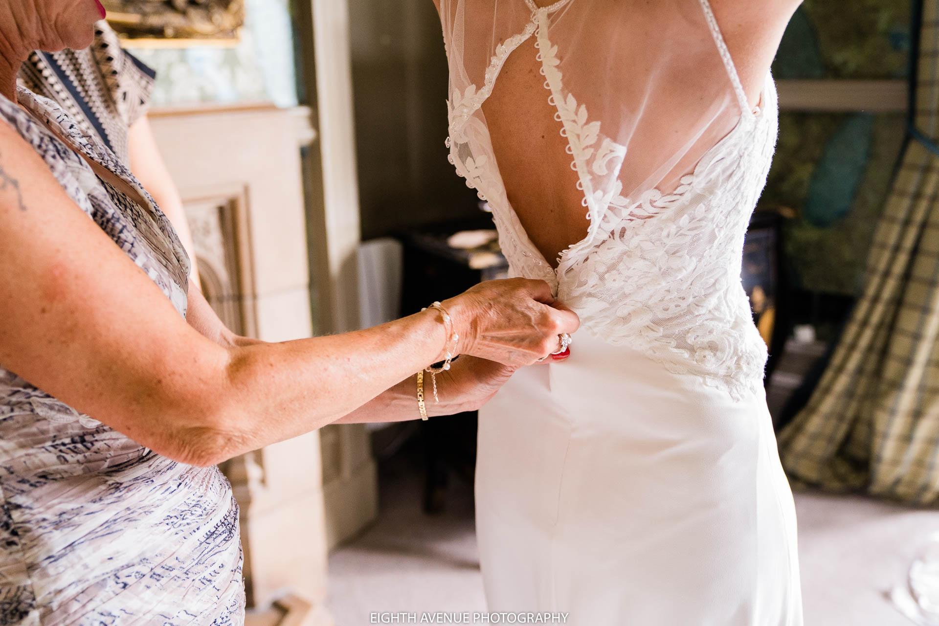 Doing brides dress up