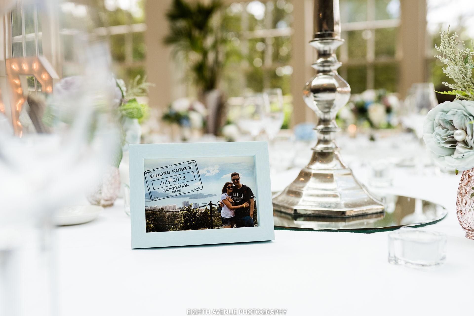 wedding table name