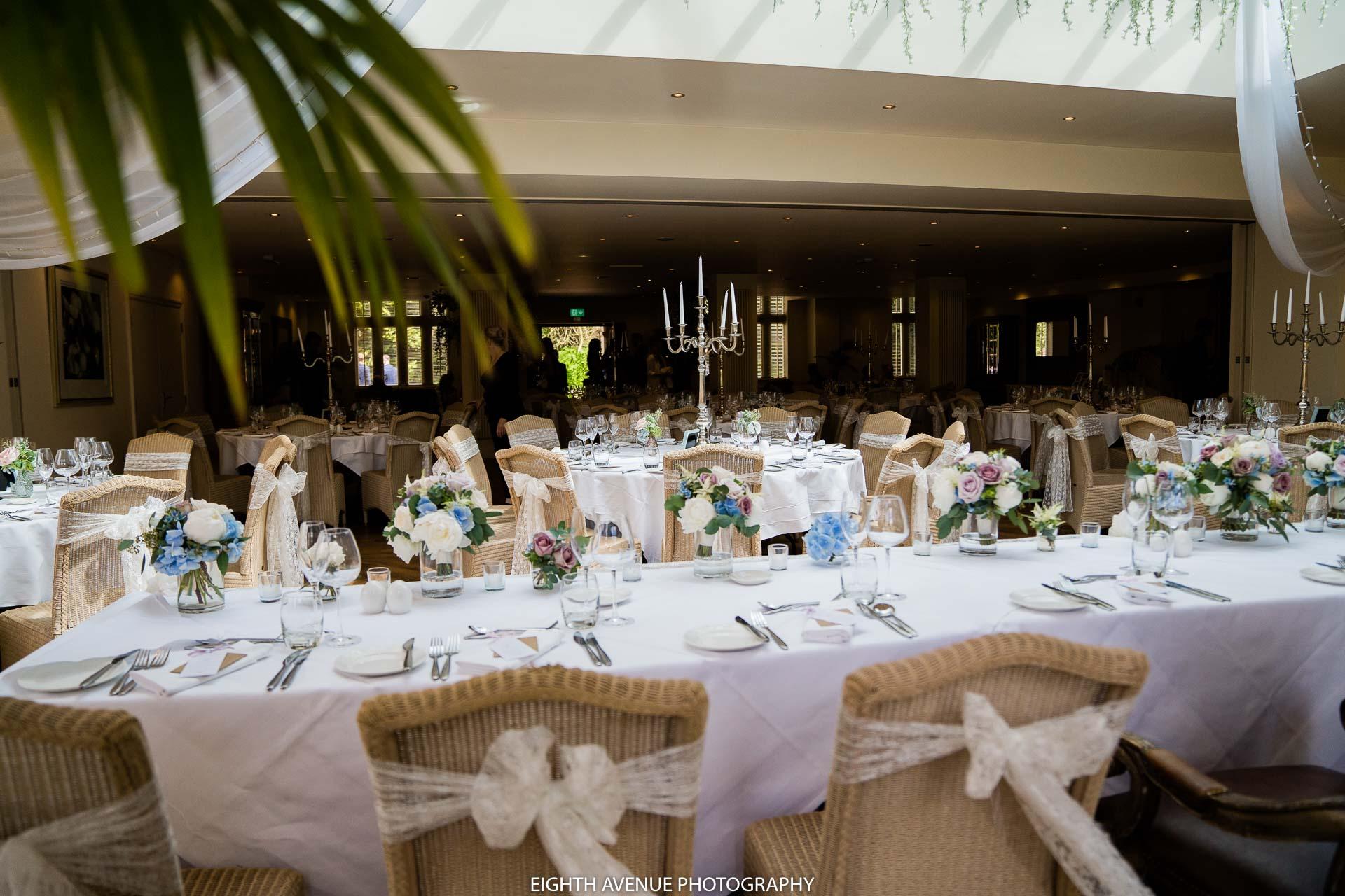 Mitton hall wedding breakfast