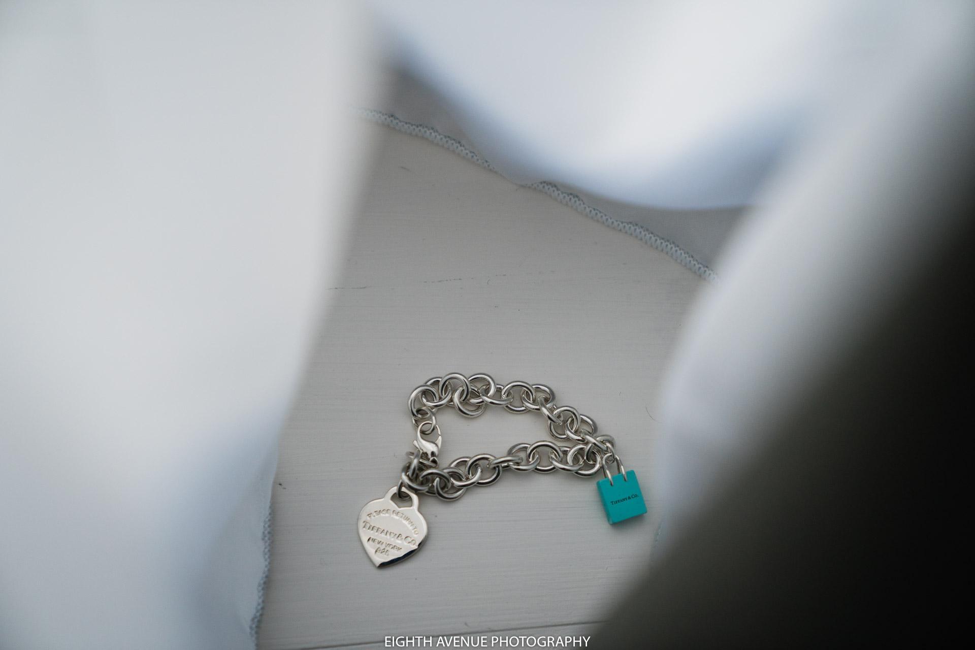 Wedding Tiffanys bracelet